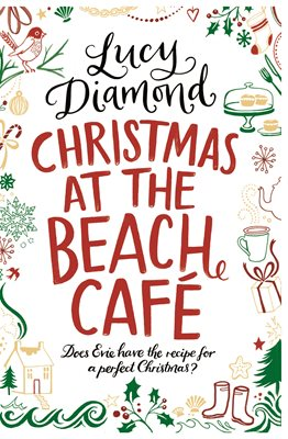 Book cover for Christmas at the Beach Cafe